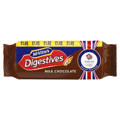 Picture of PM £1.65 MCVITIES  MILK CHOC DIGESTIVES X 15