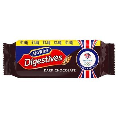Picture of PM £1.65 MCVITIES  DARK CHOC  DIGESTIVES X 15
