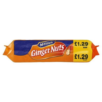Picture of PM £1.29 MCVITIES  GINGER NUTS 250G X 12