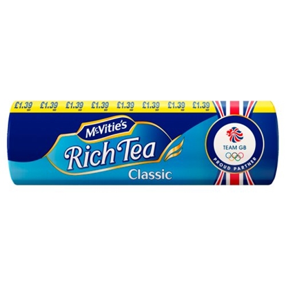 Picture of PM £1.39 MCVITIES  RICH TEA 300G X 12