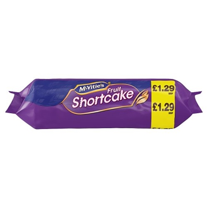Picture of PM £1.29 MCVITIES  FRUIT SHORTCAKE 200G X 12