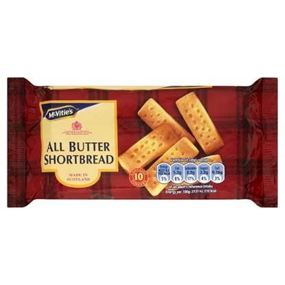 Picture of MCVITIES  ALL BUTT SHORTBREAD 200G X 12