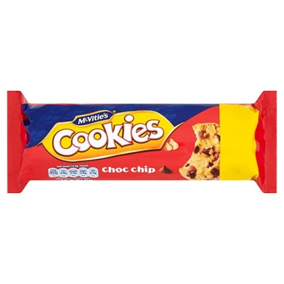 Picture of PM £1 MCVITIES  CHOC CHIP COOKIES 150G x12