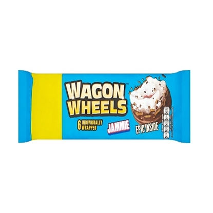 Picture of PM £1 WAGON WHEELS JAMMIE 6PK Px16
