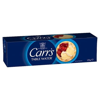 Picture of CARRS TABLE WATER BISC.125Gx12