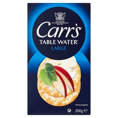 Picture of CARRS TABLE WATER BISC.200Gx6