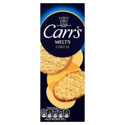 Picture of CARRS CHEESE MELTS  150Gx12