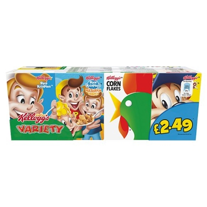 Picture of PM £2.49 KELLOGGS VARIETY PACK 190G x 6