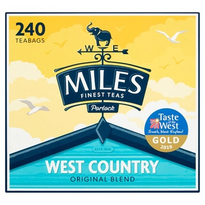 Picture of MILES TEABAGS 240'S X 4