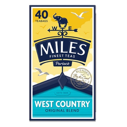 Picture of MILES TEA BAGS 40s X 6