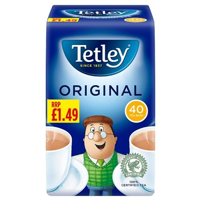 Picture of PM £1.49 TETLEY TEA BAGS 40s X 12