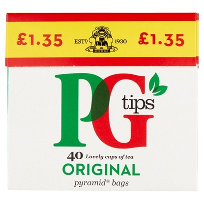 Picture of PM £1.35 PG TIPS TEA 40s X 6