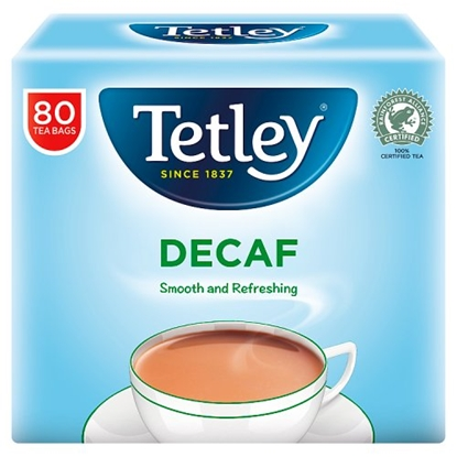 Picture of TETLEY TEA BAGS **DECAFF* 80S X 12