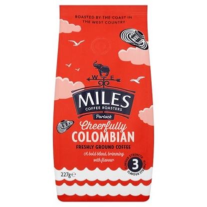 Picture of MILES*PURE*GROUND COLUMBIAN COFF 227G