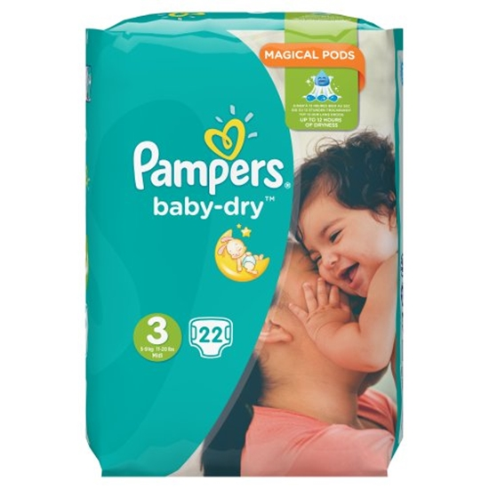 Picture of PM £4.99 PAMPERS SIZE 3 SIZE X 4