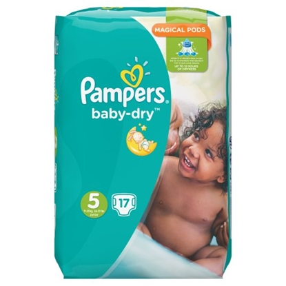Picture of PM £4.99 PAMPERS NAPPIES SIZE 5 23'sx4