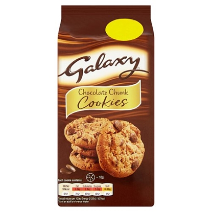 Picture of PM £1.49 MARS GALAXY COOKIES 144G X 8