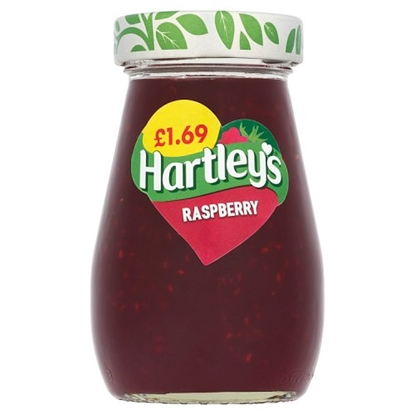 Picture of PM £1.69 HARTLEYS RASPBERRY JAM 340G x 6