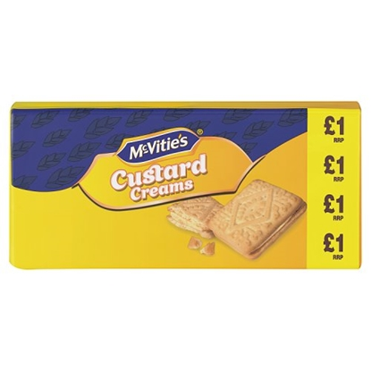 Picture of PM £1 MCVITIES  CUSTARD CREAMS 300G X 12