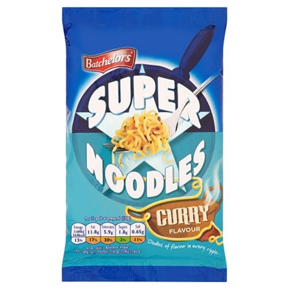 Picture of *NON PM* SUPER NOODLES CURRY  X 8