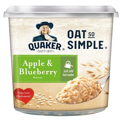 Picture of OAT SO SIMPLE POTS APPLE & BLUEBERRY X 8