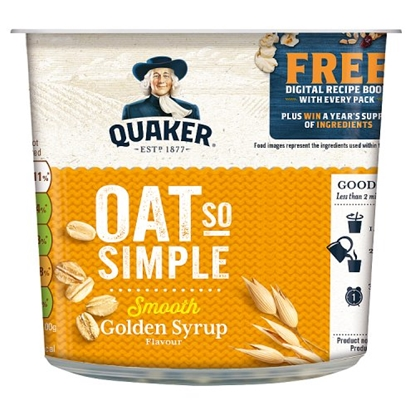 Picture of OAT SO SIMPLE POTS GOLDEN/SYRUP  X 8