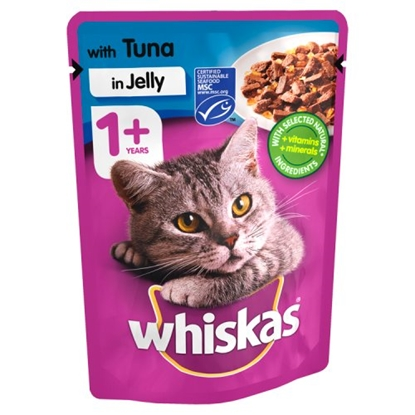 Picture of PM 3 FOR £1 WHISKAS SACHETS TUNA X 24