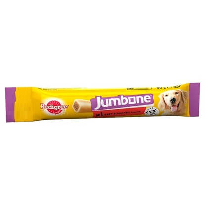 Picture of PM£1 PEDIGREE JUMBONE BEEF/POUL CLIPS 90G x 24