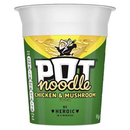 Picture of POT NOODLE CHICKEN & MUSHROOM x 12