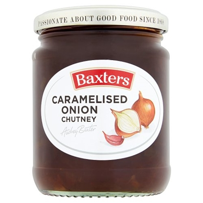 Picture of BAXTERS CARAMELISED ONION CHUTNEY 290G X 6