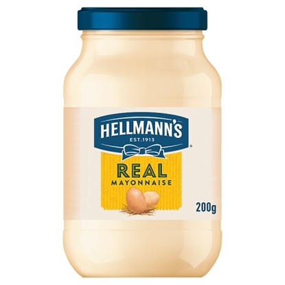 Picture of HELLMANS MAYONNAISE 200G X 12