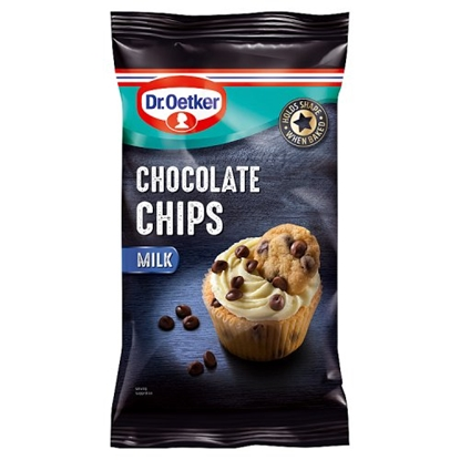 Picture of DR O.CHOC CHIPS MILK 100G X 9