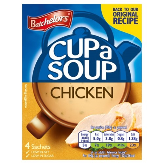 Picture of *NON PM* BATCHELORS CUP A SOUP CHICK & VEGx9