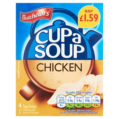 Picture of PM £1.59 BATCHELORS CUP A SOUP CHICKEN 81G X 9
