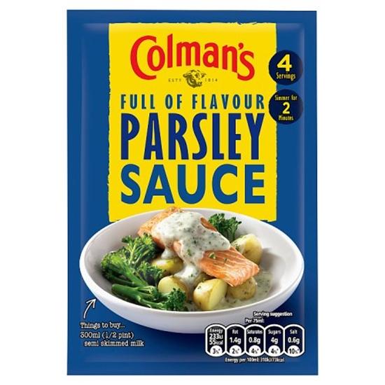 Picture of COLMANS PARSLEY SAUCE 20G X 20