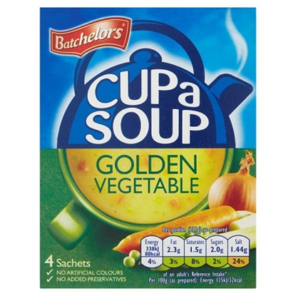 Picture of *NON PM* BATCHELORS CUP A SOUP GOLD VEG X 9