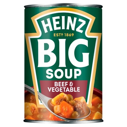 Picture of *NON PM * HEINZ BIG SOUP BEEF & VEGETABLE  X 12