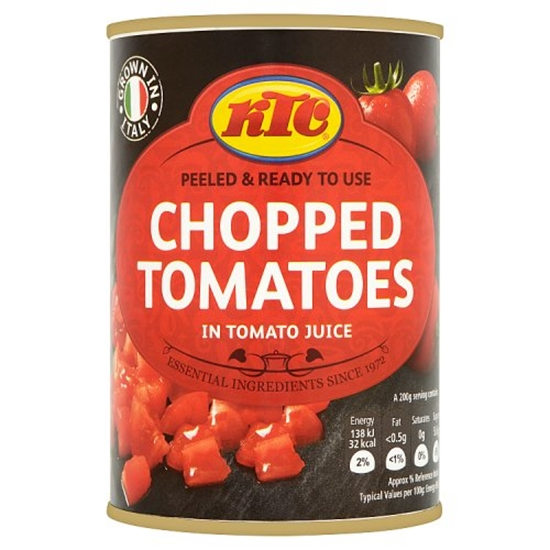 Picture of KTC CHOPPED TOMATOES 400G x 12
