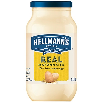 Picture of HELLMANS MAYONNAISE 400G X 12