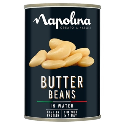 Picture of NAPOLINA BUTTER BEANS 400G x12