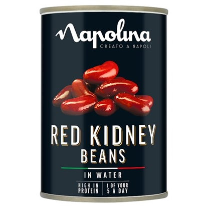 Picture of NAPOLINA RED KIDNEY BEANS 400G x12