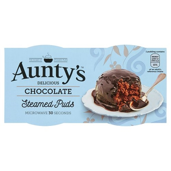 Picture of AUNTYS CHOCOLATE PUDDING  2x100G x 6