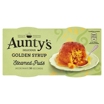 Picture of AUNTYS GOLDEN SYRUP PUDDING  2x100Gx 6