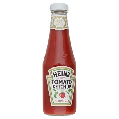 Picture of HEINZ TOMATO SAUCE 342G *GLASS* X 12