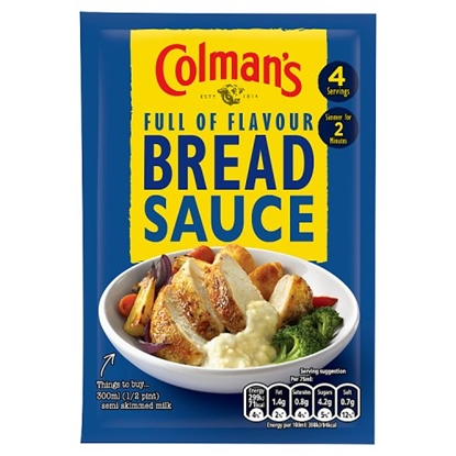 Picture of COLMANS BREAD SAUCE MIX 40Gx16
