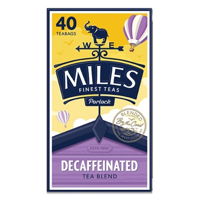 Picture of MILES**DECAFF**TEABAGS 40s x6