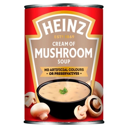 Picture of *NON PM* HEINZ SOUP MUSHROOM 400G X 24