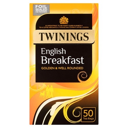 Picture of TWININGS ENGLISH BREAKFAST 50'S x 4