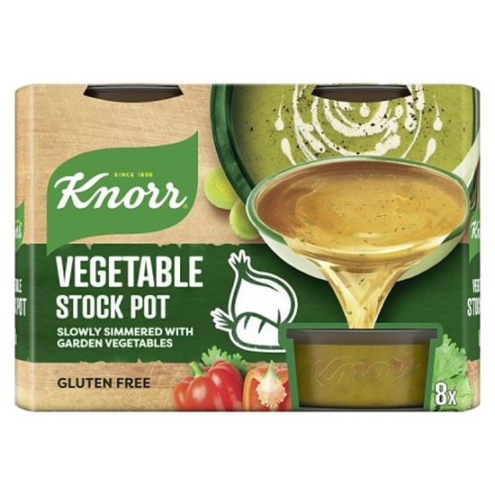 Picture of KNORR STOCK POT VEGETABLE (8X28G) X 4