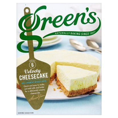 Picture of GREENS ORIGINAL CHEESECAKE 259G X 6